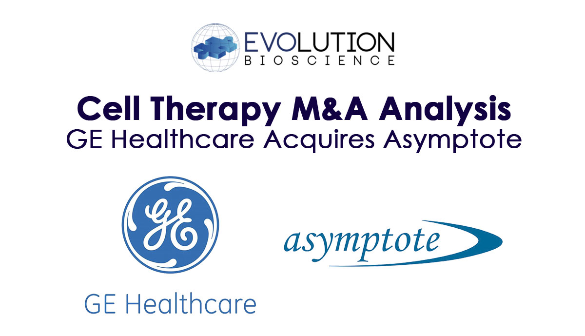 GE Healthcare Strengthens Cell Therapy Portfolio with Acquisition of Asymptote