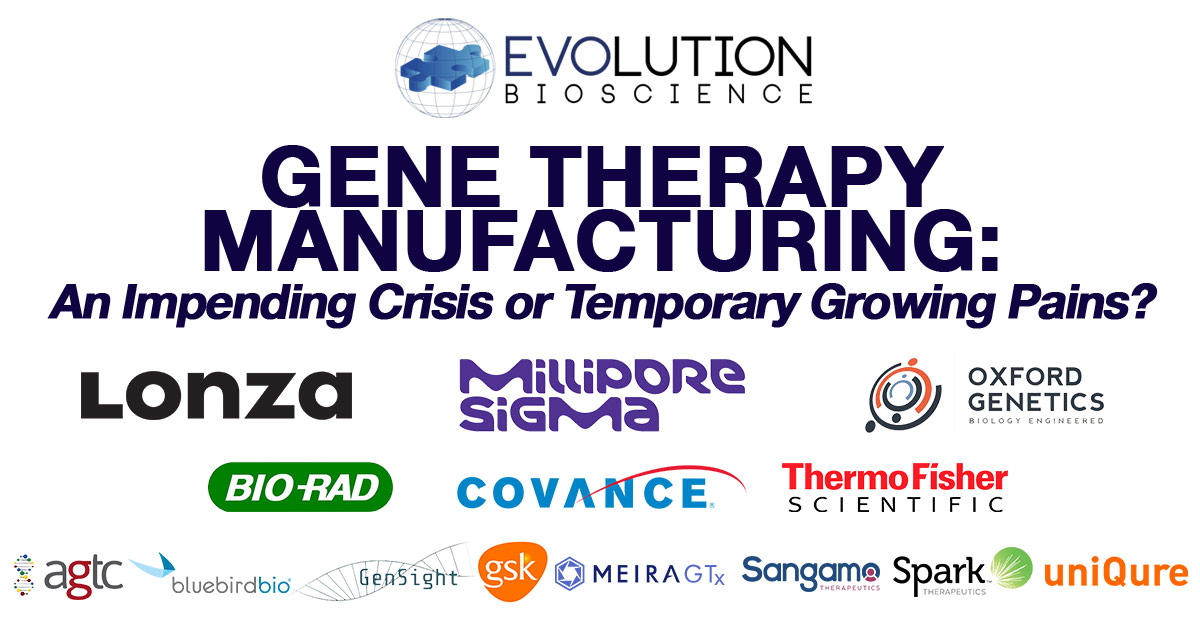Manufacturing Gene Therapies: An Impending Crisis or Temporary Growing Pains?