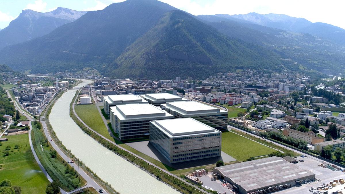 Lonza's Ibex Solutions BioPark in Visp