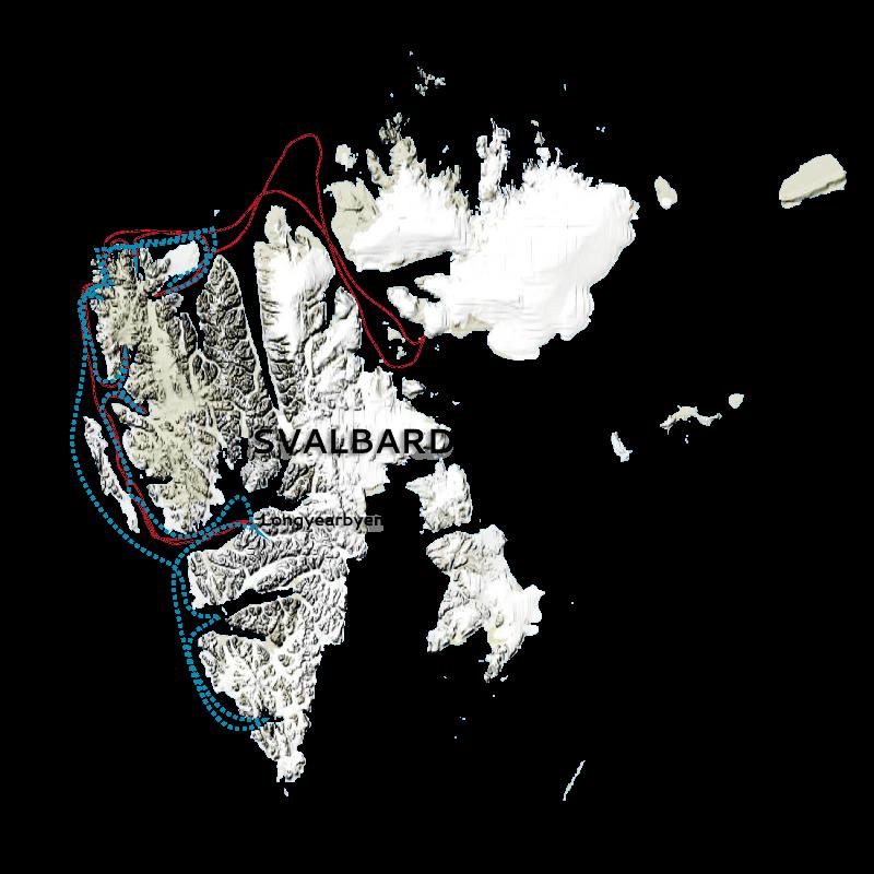 Svalbard Classic map