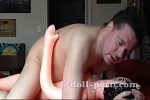 Fucking my doll and cumming inside her pussy!