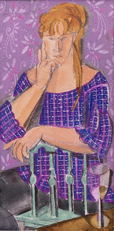 Mujer posando I