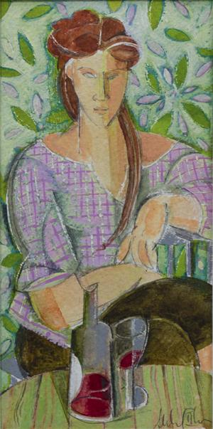 Mujer posando III