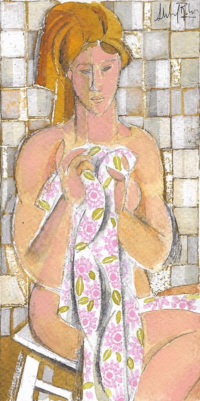 Mujer posando IX