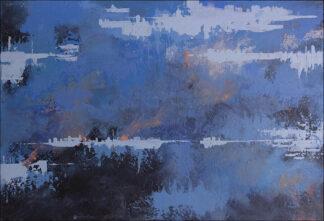 blue sunset I