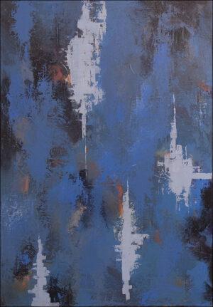 """Blue sunset III"""