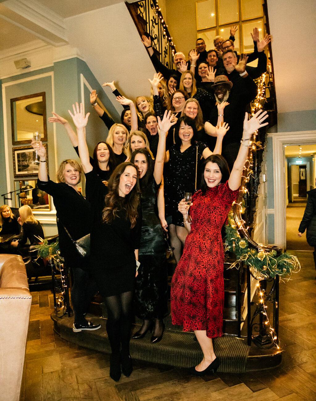 Lady Winbledom Christmas Party. Hotel du Vin. Wimbeldom. London. 04/12/2019. Photo: Alessandro Filizzola | www.alefilizzola.com