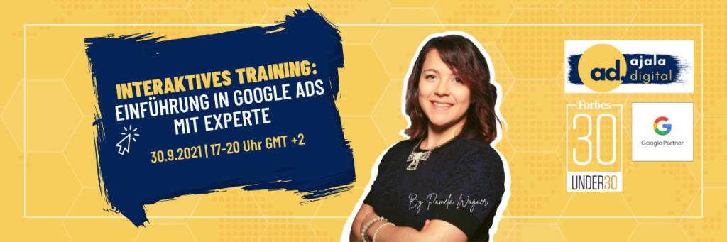 Interaktives Training Einführung in Google Ads_mit Experte