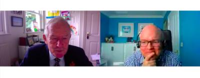 Barry Sheerman MP and Dr. Adam Read OWL Midlands Digital