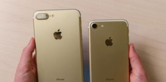 Golden version of the awesome latest Apple iPhone 7