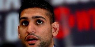 Amir Khan boxer's elicit sex tape.