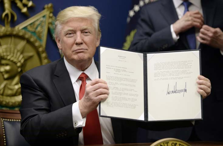 Trump has suspended the entire US refugee resettlement program for the next 120 days