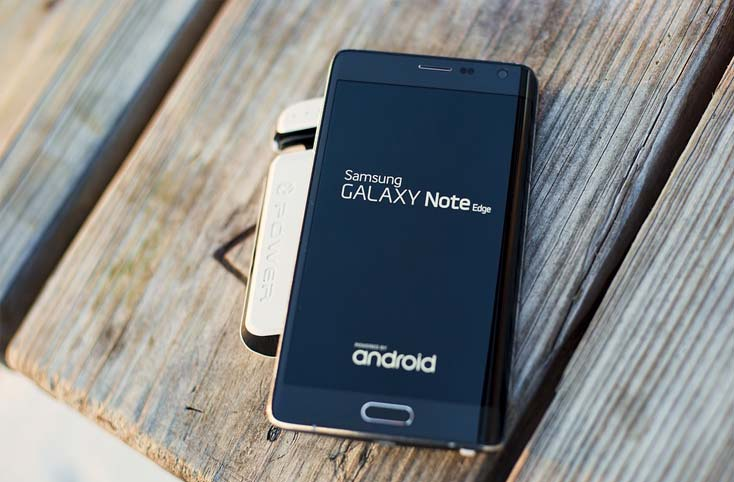 Samsung Galaxy Note Edge, Best Phone in Android