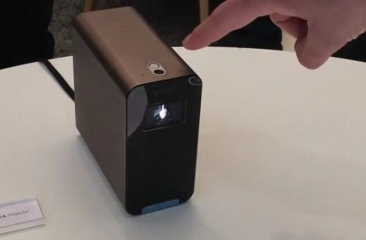 New Xperia Projector unveiled