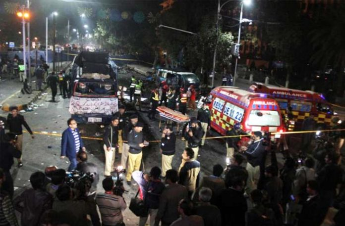 suicide bomber attack takes lives of 15 people