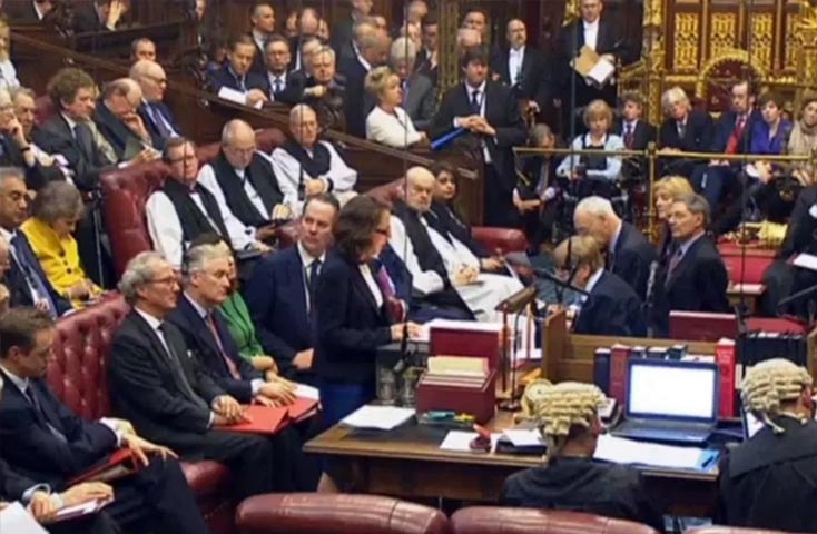 House of Lords Discusses the Brexit Bill