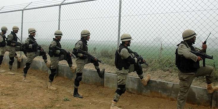 Indian Troops have been considerably less hostile for a few days