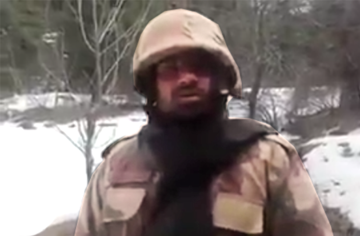 Pakistani Soldier's Response To Indian Soldier Video