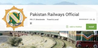 Pakistan Railways Mobile App Launched