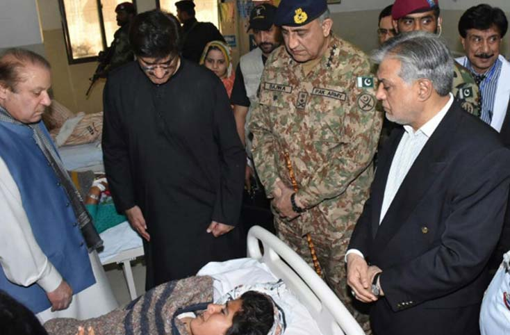 PM and CM Visit the Injured