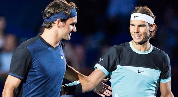 Nadal and Federer are currently two of the oldest players in the tennis world