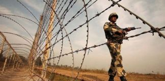Indian troops unstopped firing on working boundary