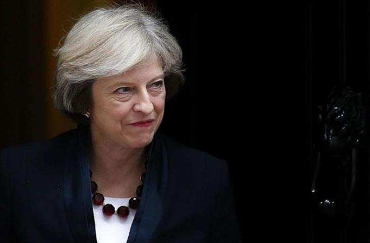 Theresa May on Brexit Bill Defeat
