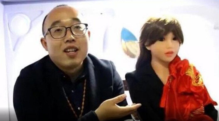 Chinese Engineer Married Robot Woman