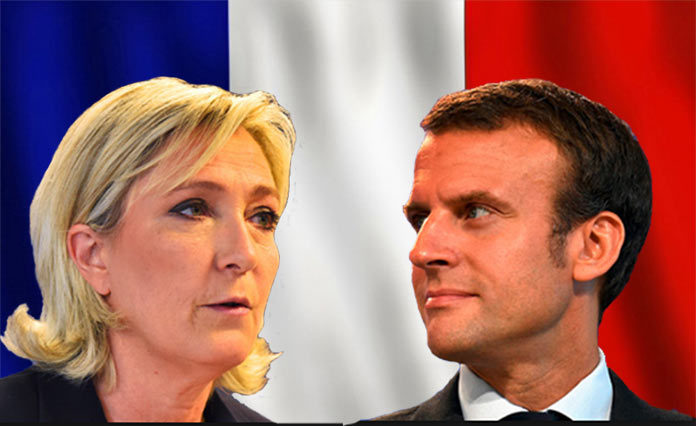 French Elections - Le Pen and Macron Reach Second Round.