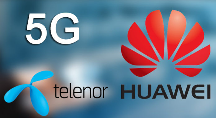 Huawei and Telenor Team Up To Test 5G Internet Connection