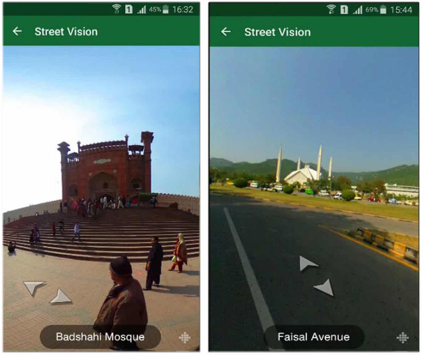 Images of Pakistan Street View Maps