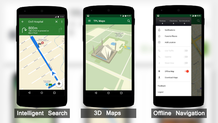 Some of the salient Pakistan Street View Maps