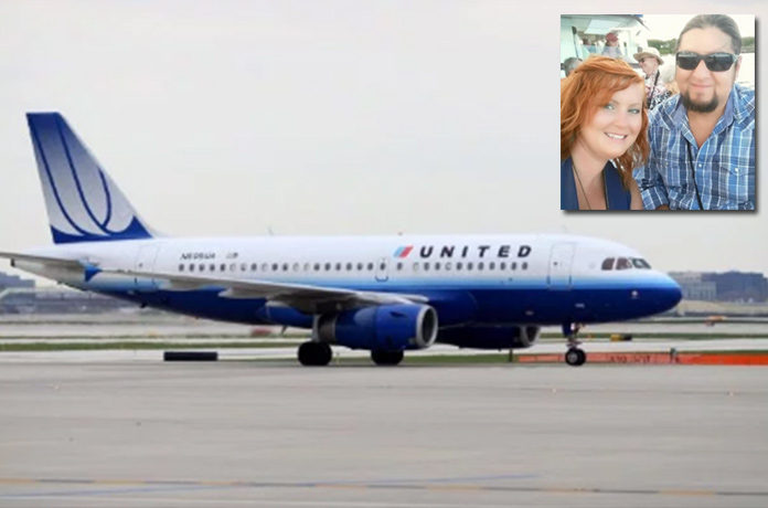 United Airlines Kicks Off A Couple Going For Their Wedding