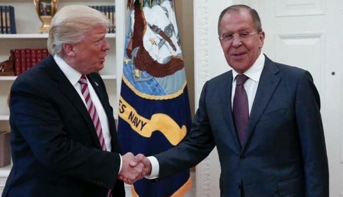 Trump Admission on Sharing Sensitive Info with Russia
