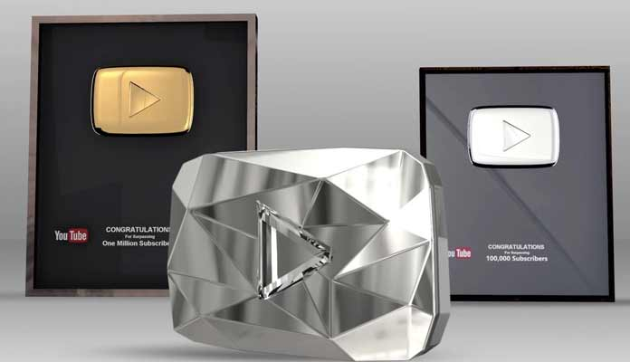 YouTube Diamond Button Given to PSY