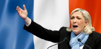 Le Pen Accused of Speech Plagiarism.