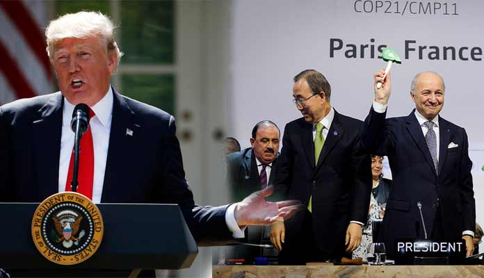 Trump To Withdraw from Paris Climate Agreement