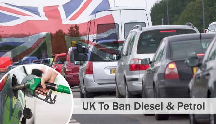 The UK Not to Allow Diesel & Petrol Cars After 2040