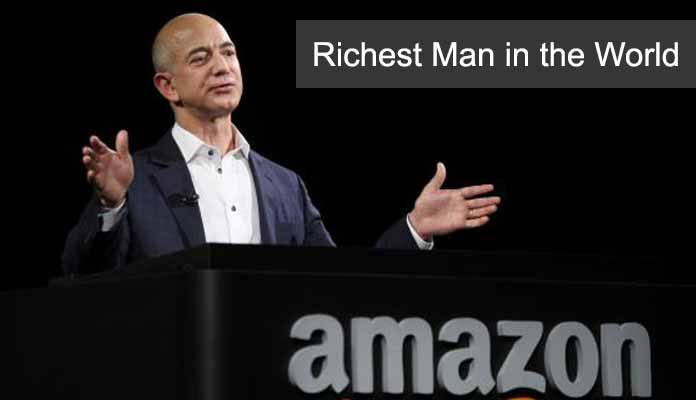 Jeff Bezos Briefly Becomes the Richest Man in the World