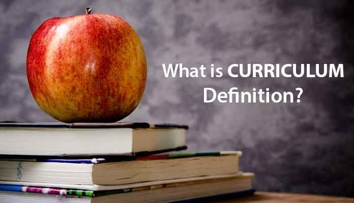 What is Curriculum Definition?
