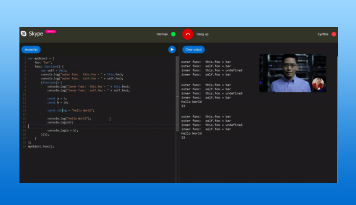 Interviews Feature Comes with Code Editor