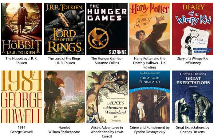 Top 10 Bestselling Books of All Times