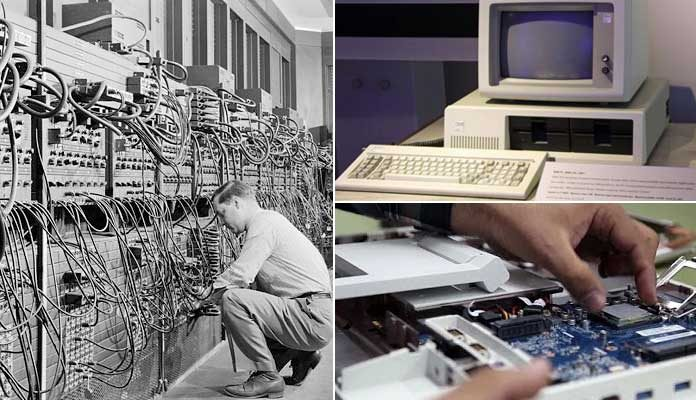 History and Evolution of the Computer Technology