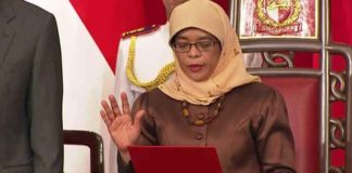 Halimah Yacob Becomes First Female Singapore President