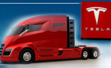Tesla to Unveil Its All-Electric Semi-Truck