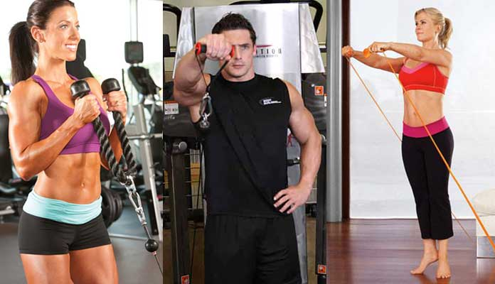 Carve Your Arms with 4 Upper Body Exercises - Revised