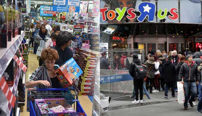 Toys R Us Bankruptcy Protection Filed
