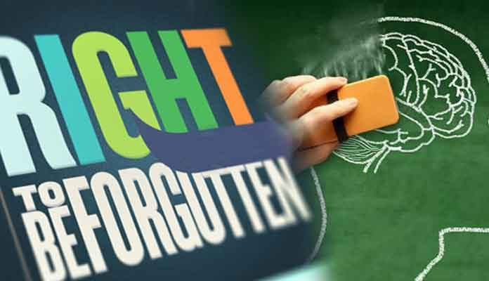 What is the Right to be Forgotten?