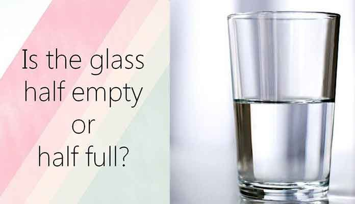 Life is An Empty Glass, Fill at Your Own Risk