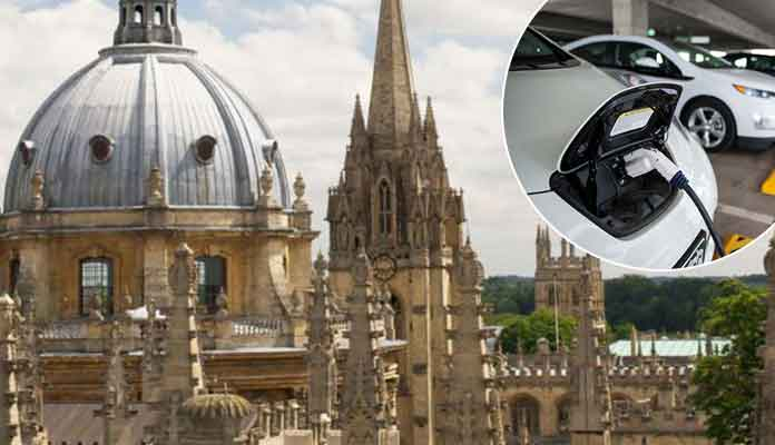 Oxford City Center May Only Allow Electric Cars by 2020